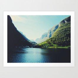 Mountains XII Art Print