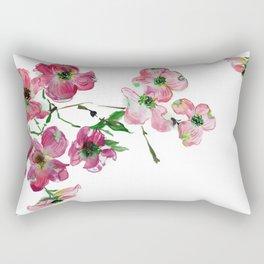 Dogwood Branch Rectangular Pillow