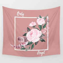 Only Angel Wall Tapestry