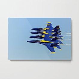 Sky Walkers (U.S. Navy Blue Angels) Metal Print