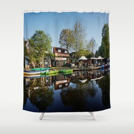 Bootsstation Bad Fallingbostel Shower Curtain