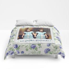Les jumelles gourmandes ! Comforters