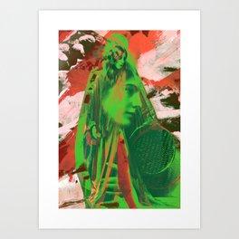 Break Away Art Print