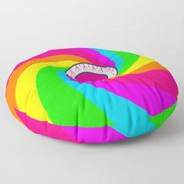 Neon Gaze Floor Pillow