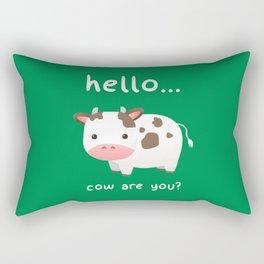 Good Mooorning! Rectangular Pillow