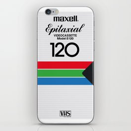 MAXELL VHS iPhone Skin