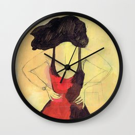 SELINA BEACH SKETCHBOOK Wall Clock