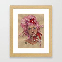 Critters Framed Art Print