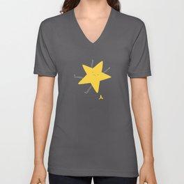 falling star Unisex V-Neck