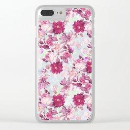 Botanical Garden Clear iPhone Case