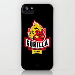 Bachelor Party Gorilla Team iPhone Case