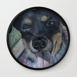 Cattle Dog Pup Wall Clock