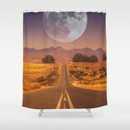 Lunar 2 Shower Curtain