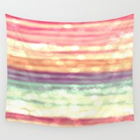 pastel Wall Tapestries featuring Pastel  by WhimsyRomance&Fun