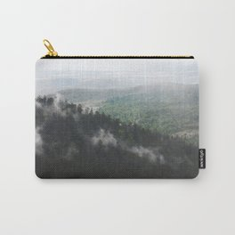 Clouds in the forest Carry-All Pouch