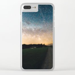 Infinite Journey Clear iPhone Case