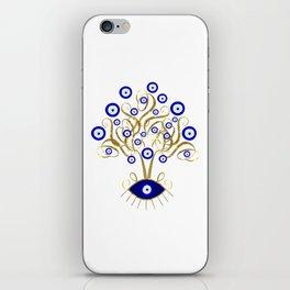 All Seeing Evil Eye Tree iPhone Skin
