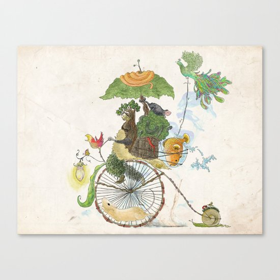 The Life Cycle Canvas Print