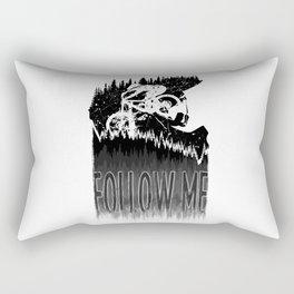 Follow Me Rectangular Pillow