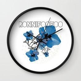 Chickadee-dee (white) Wall Clock