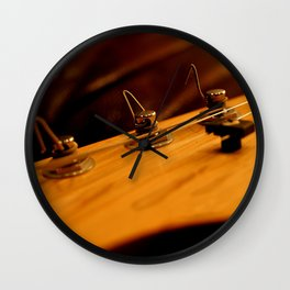 Guitar Tuners Wall Clock