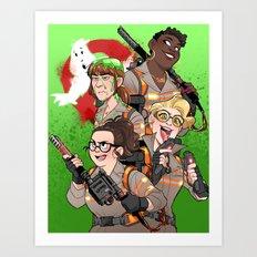 Ghostbusters 2016 Art Print