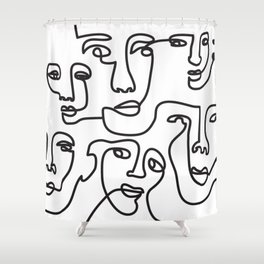 Influencer Shower Curtain