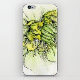 Watercolor Helleborus iPhone Skin
