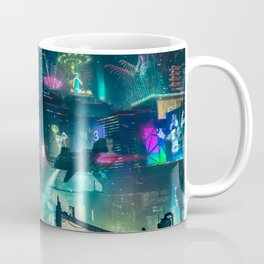Cyberpunk City Coffee Mug