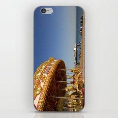 Golden Carousel at the Beach iPhone & iPod Skin