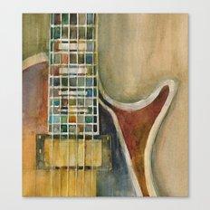 Gibson Electric Guitar Canvas Print