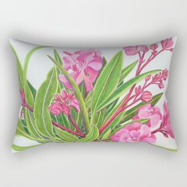 Oleanders Rectangular Pillow
