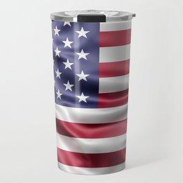 Flag of United States of America Travel Mug