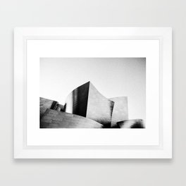 The Walt Disney Concert Hall Framed Art Print
