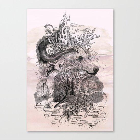 Forest Warden Canvas Print
