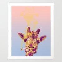 Smokin' Hot Art Print