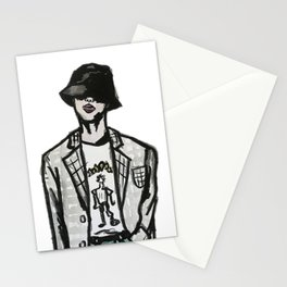 RUN BTS JIN Stationery Cards
