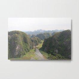 pathway to tranquillity Metal Print