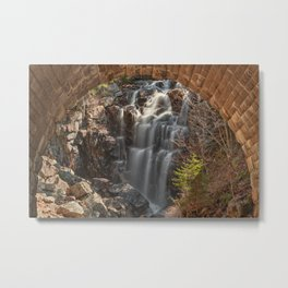 Hadlock Arch Falls Metal Print