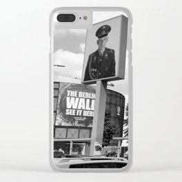 Checkpoint Charlie Berlin Clear iPhone Case