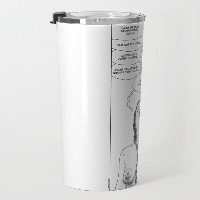 asc 709 - Les choses dites (Two or three things I love about you) Travel Mug