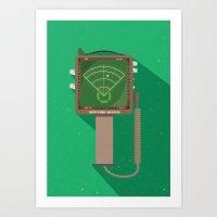 Alien: Isolation - Motion Tracker Art Print