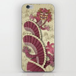 dragon delight iPhone Skin