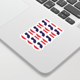 555  Thai flag Sticker