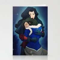 korrasami Stationery Cards featuring Just the two of us... by gabbiki