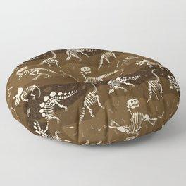 Fossil Dinosaur Pattern Floor Pillow