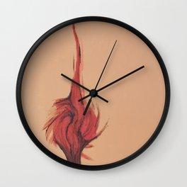 Flaming Tree Wall Clock