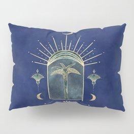 Palm Tree Oriental Moon Magical Moment Pillow Sham