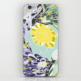 Sun & Moon Child iPhone Skin