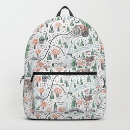Enchanted Forest Map Backpack